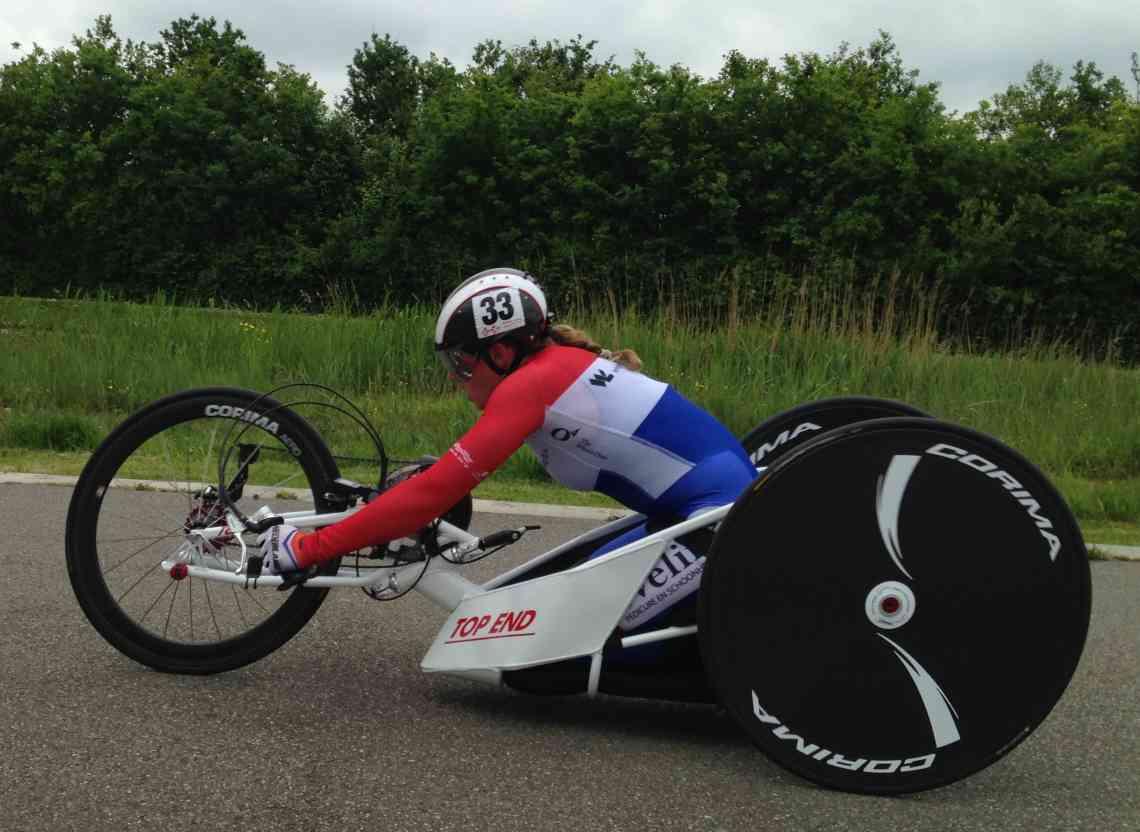 Laura de Vaan presteert succesvol mede dankzij O4 Wheelchairs