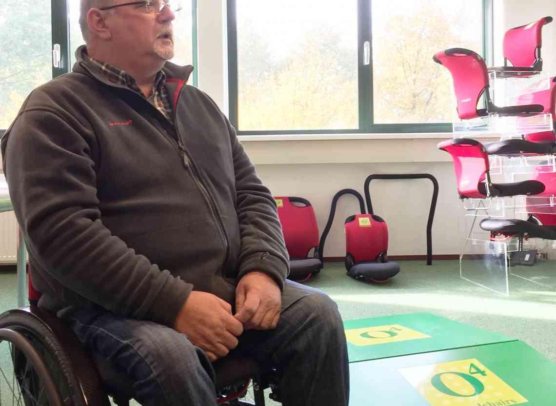 Clemens Ruiken - Tevreden gebruiker O4 Wheelchairs