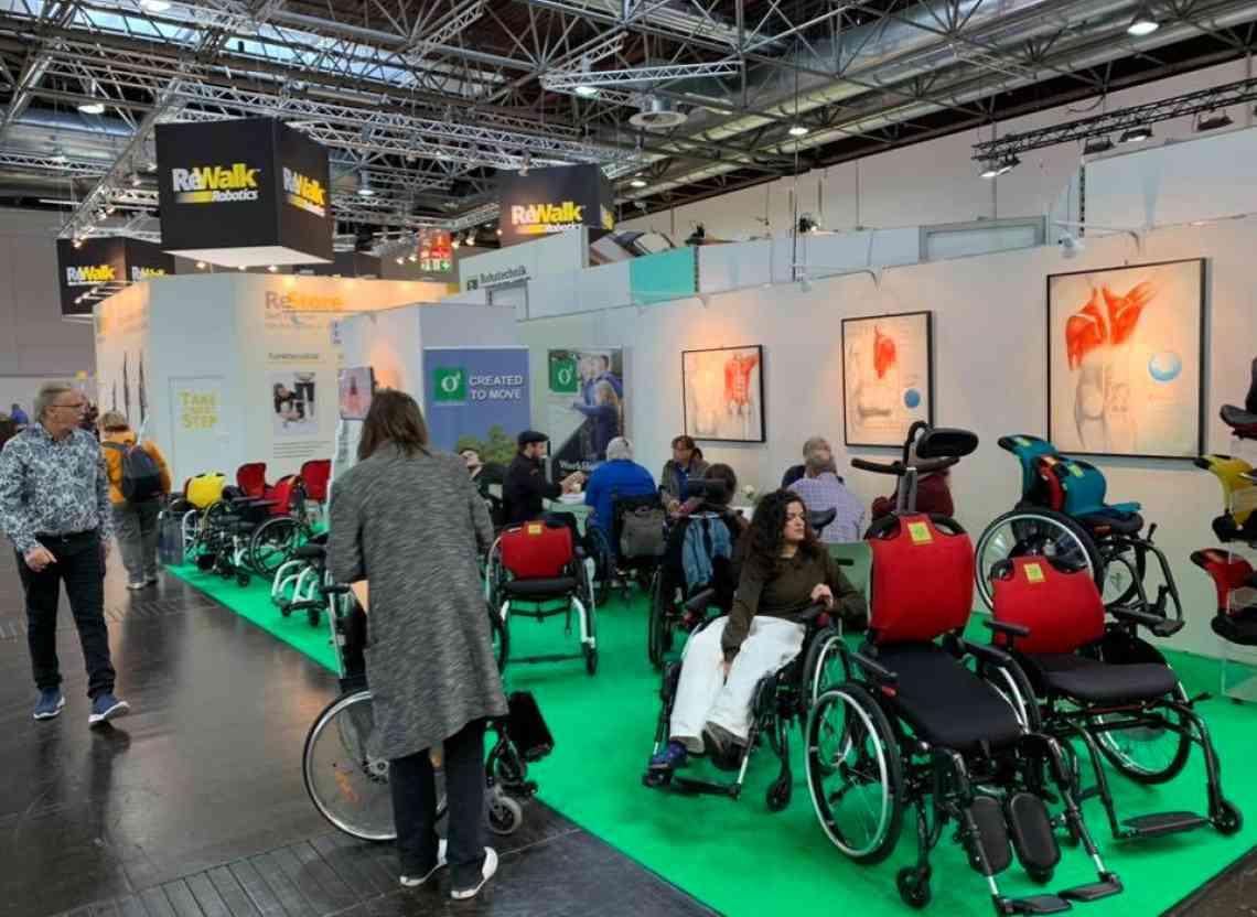 Großes Interesse an O4 Rollstühlen bei der REHACARE