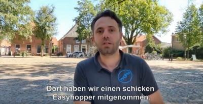 Wheelchair Mafia testet unseren O4 EasyHopper