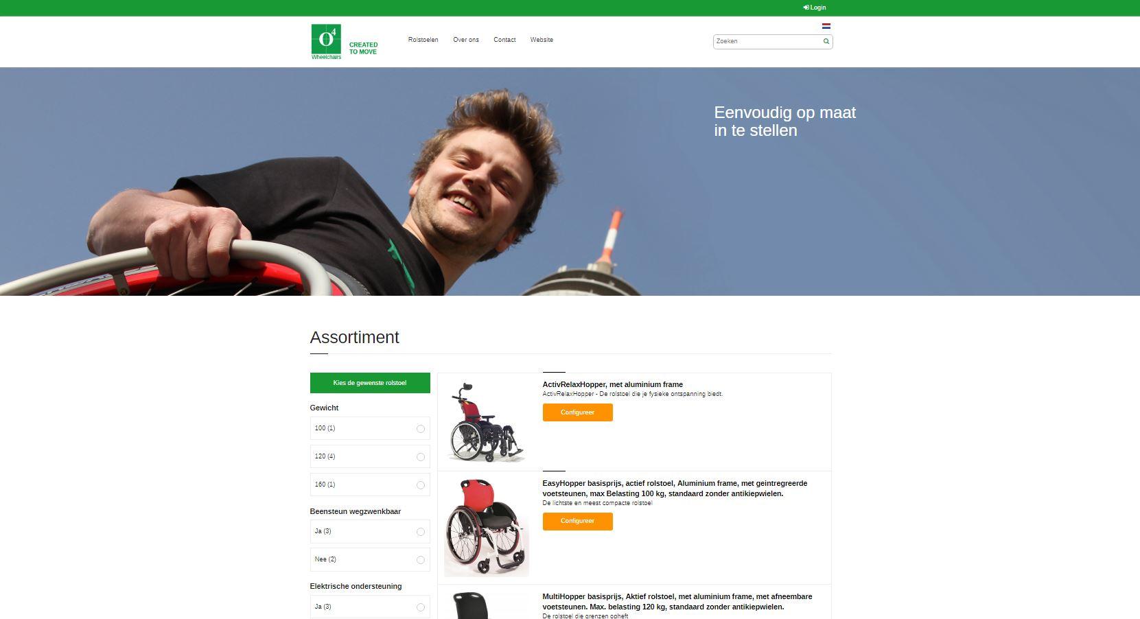 Online einen Rollstuhl konfigurieren – Probieren Sie es mal!